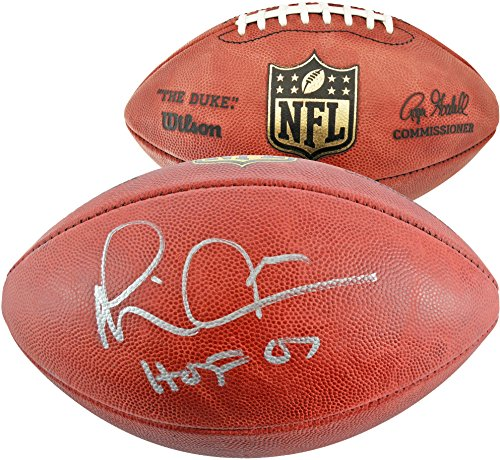 Dallas Cowboys Autographed Pro Football - Michael Irvin Dallas Cowboys Autographed Pro Football with HOF 2007 Inscription - Fanatics Authentic Certified