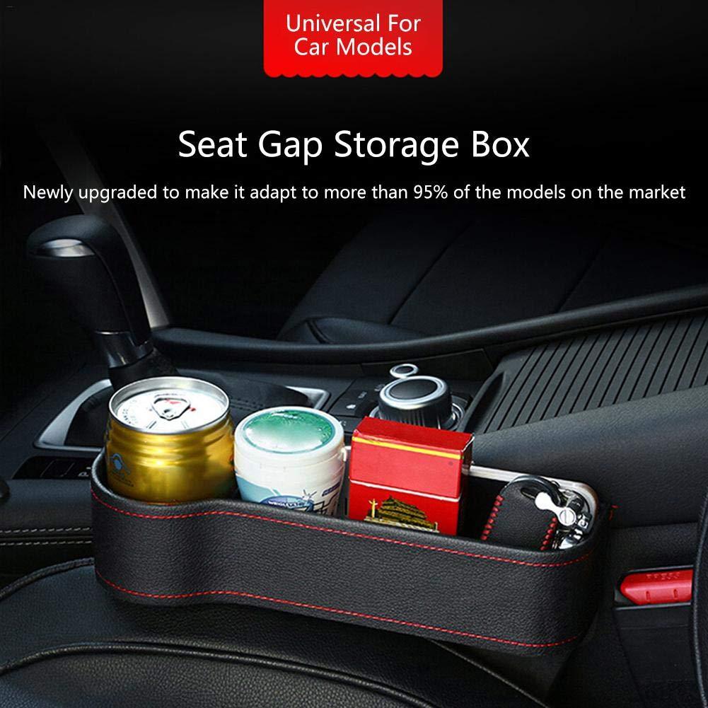 Slit Pocket Organiser Autositz Aufbewahrungsbox Storage Box Compartment for car seat Autositz L/ücke Getr/änkehalter Handyhalter