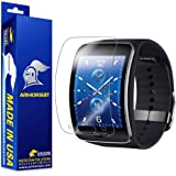ArmorSuit Samsung Gear S Screen Protector [2 Pack] MilitaryShield Anti-Bubble Screen Protector Compatible with Gear S -HD Clear Anti-Bubble