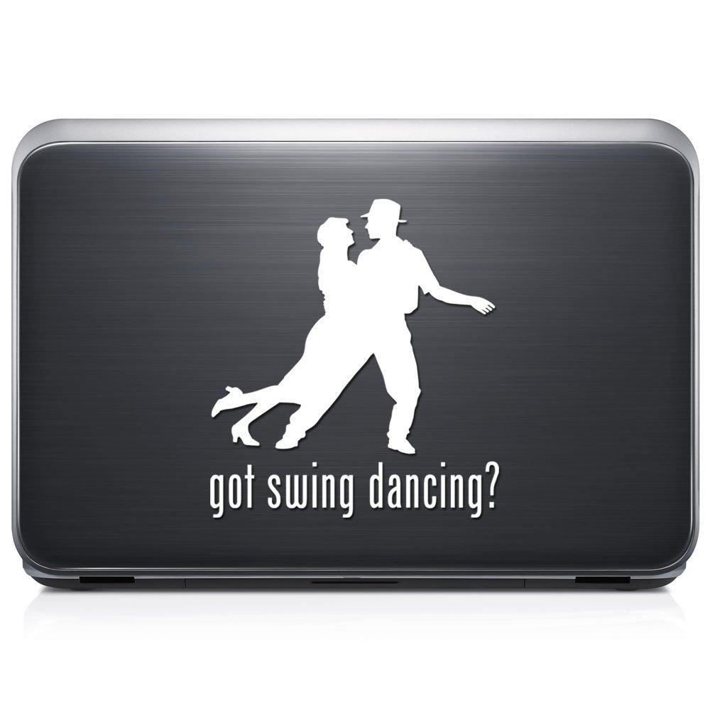 Got Swing Dancingダンス取り外し可能なビニールデカールステッカーforラップトップタブレットWindows壁装飾車トラックオートバイヘルメット (10 in / 25 cm) Tall RSGT397-10MWH (10 in / 25 cm) Tall グロスホワイト B076YNGQ1J