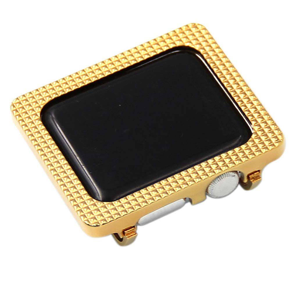 YALTOL for Iwatch/Apple Watch Series 4/3/2/1 Protection Frame with Metal Case Frame Bezel,40mm,44mm,38mm,42mm,42mm