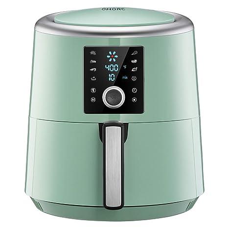 Amazon.com: OMORC 6 Quart Air Fryer, Air Fryers, 1800W Fast ...