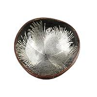 Etbotu Natural Coconut Shell Bowl Storage Dish, with Spray-Paint Decor,Home Decorative Bowls