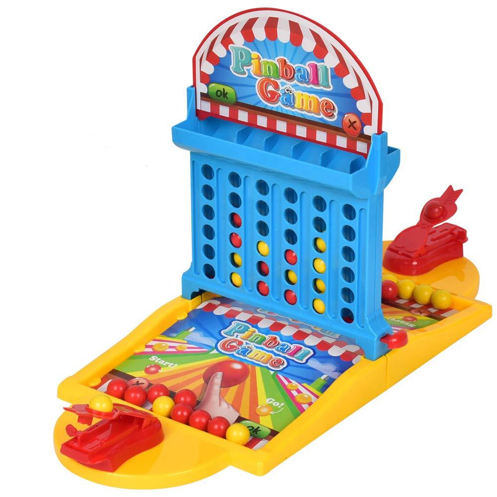 Enfants Double Table marbre Jeu Machine Bureau Bureau développement intellectuel Anniversaire Cadeau fête Jeux de Famille