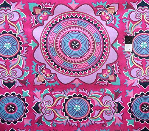 (Amy Butler Eternal Sunshine Namtra Cherry Sateen Home Decor Fabric By Yard)
