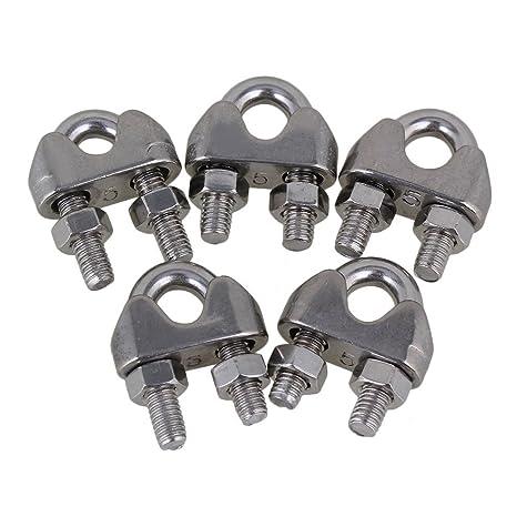 BQLZR plata fuerm de U (acero inoxidable 304 Cable ...
