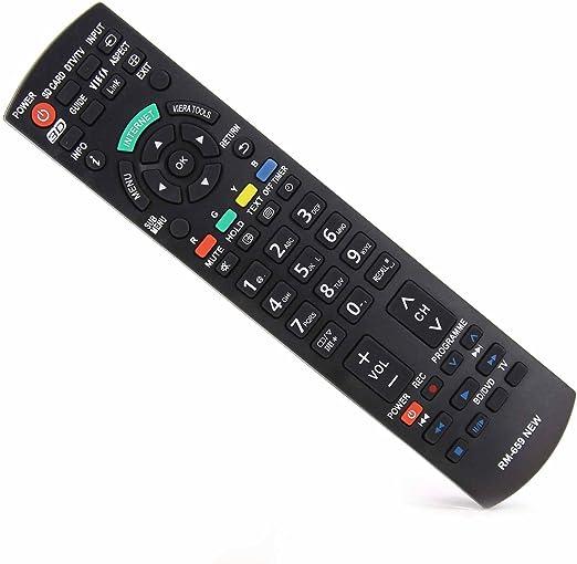 Mando a distancia universal UCT-045 para Panasonic N2QAYB000490 N2QAYB000353 N2QAYB000048 N2QAYB000487: Amazon.es: Electrónica
