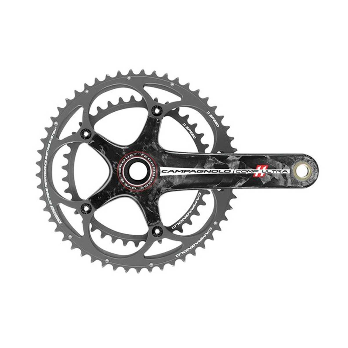 Campagnolo Comp Ultra over-torqueロード自転車クランクセット B00MRRIH2W 34/50 x 170mm|カーボン カーボン 34/50 x 170mm