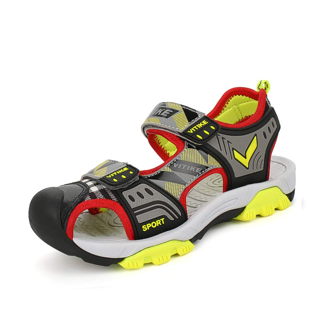 WETIKE Kids Sandals Summer Water Shoes Boys Outdoor Sneaker Sandals Sports Shoes Girls