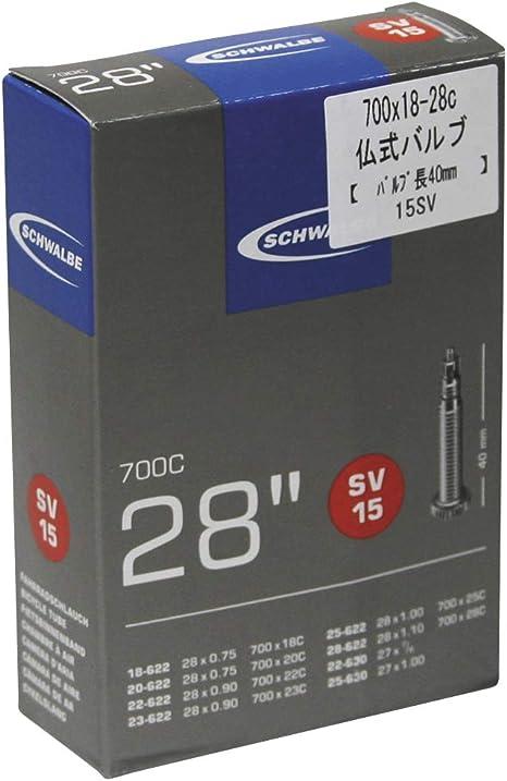 SCHWALBE SV15  27 X 1.00  BIKE INNER TUBE 60mm PRESTA VALVE QUANTITY RATE