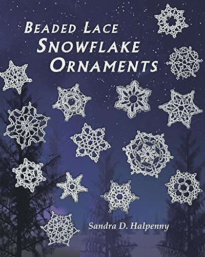 - Beaded Lace Snowflake Ornaments