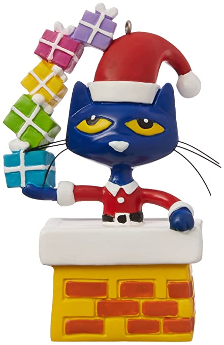 Pete The Cat Christmas.Department 56 Pete The Cat Christmas Ornament