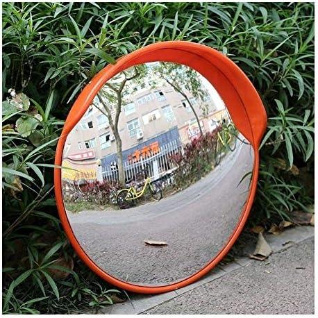 カーブミラー ワークショップガレージレーン死角の安全凸面鏡PC日焼け止め丈夫な防水 RGJ4-1 (Size : 600mm)