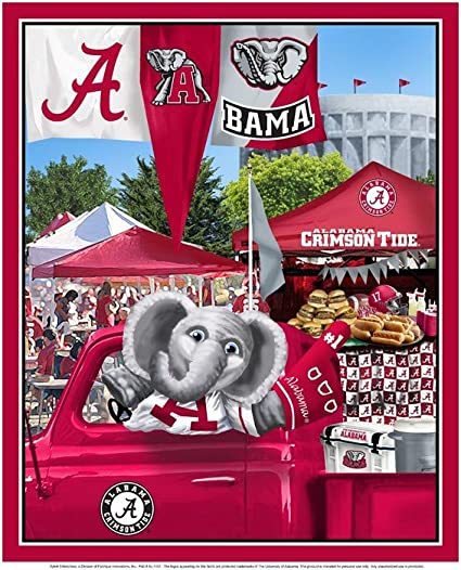 24 inch by 36 inch ALABAMA CRIMSON TIDE College University Poster 8