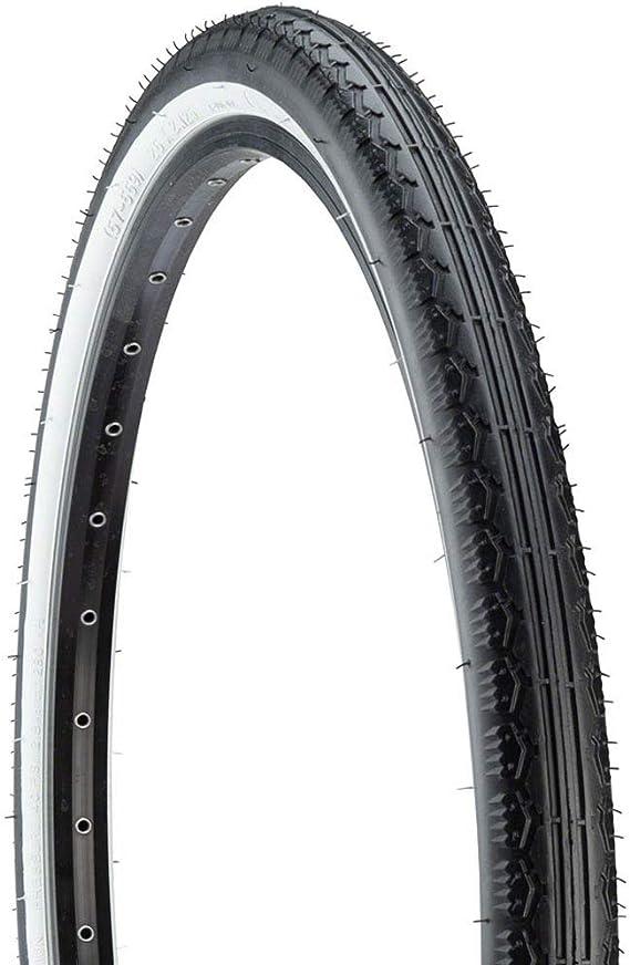 "Kenda Flame tread Cruiser Tire 20/"" x 2.125/"" Black//White Wall."