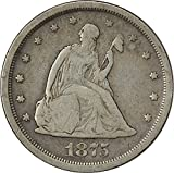 1875 S Twenty Cent Piece VG