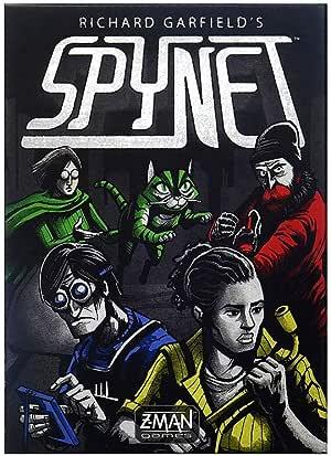 Spynet Card Game
