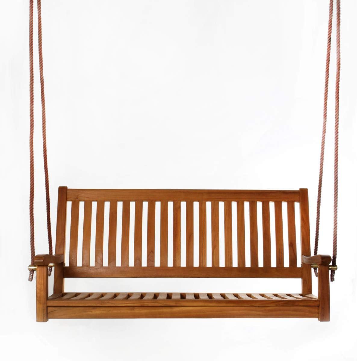 All Things Cedar TS50 Teak Porch Swing