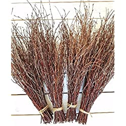 150 Birch twigs - 3 bundles. white birch branches, Centerpieces.Thin birch branches.birch branches for decoration, Decorative branches (3x50pcs bundles)