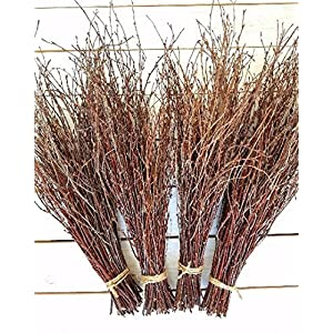 150 Birch twigs - 3 bundles. white birch branches, Centerpieces.Thin birch branches.birch branches for decoration, Decorative branches (3x50pcs bundles) 3