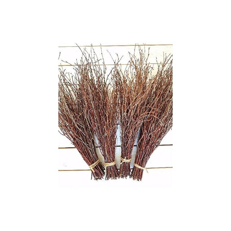 "silk flower arrangements 150 birch twigs - 3 bundles 15"". thin birch branches, centerpieces.thin birch branches.birch branches for decoration, decorative branches (3x50pcs bundles) handmade in europe"