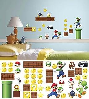 Nintendo   Super Mario Build A Scene Wall Decal 10 X 18in Part 57