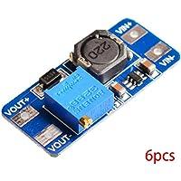 Bobury 6PCS MT3608 DC regulador de Voltaje Step