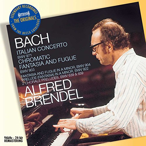 Bach: Italian Concerto BWV 971; Chromatic Fantasia and Fugue BWV 903 by Philips