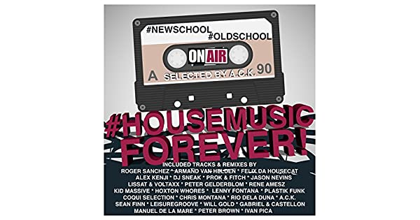 Amazon.com: #NewSchool #OldSchool #HouseMusic Forever ...