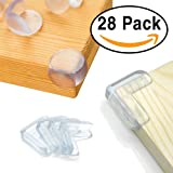 Amazon Price History for:28 Pack Baby Proofing Corner Guards Furniture Corner Edge Safety Bumpers with Adhesive By Agolds (Triangle & Ball Shaped)