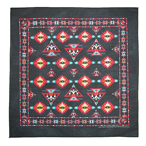 ctmr-unisex-apache-southwest-print-bandana-black