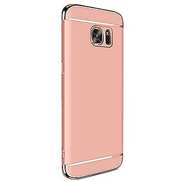 Samsung Galaxy S7 Edge Carcasa rígida, caler® Antigolpes de alta calidad PC Ultra Slim Residuos. Antiarañazos Bumper Case Cover Carcasa para Galaxy S7 ...