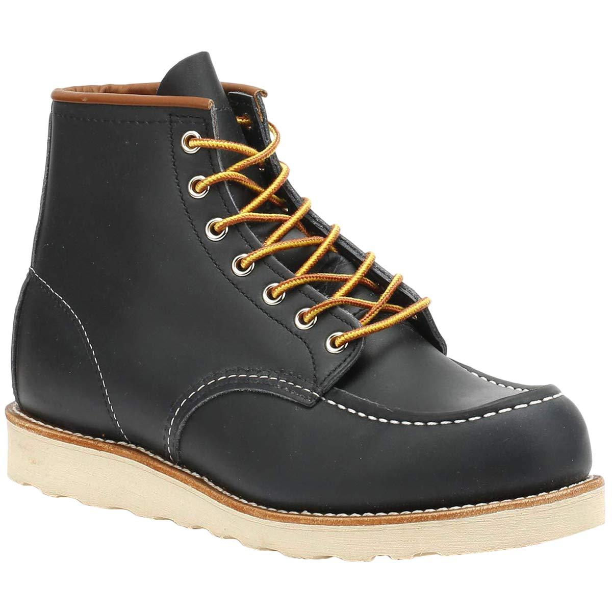 Red Wing 8859: Mens 6'' Moc Toe Navy Portage Boots (9.5 D(M) US Men)