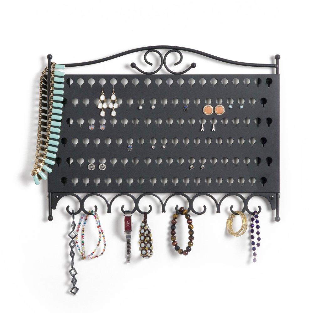 Jewelry Wall Organizer Amazoncom Mango Steam Slim Profile Wall Mounted Jewelry