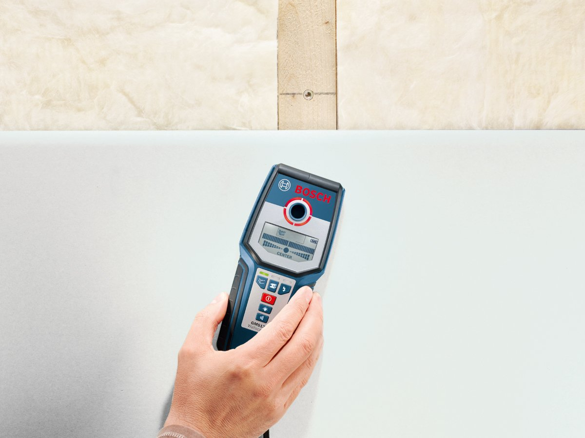Bosch 601081000 - Gms 120 - herramienta para medir (negro, azul, 9 v): Amazon.es: Bricolaje y herramientas