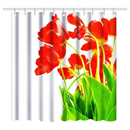 Bnxbb Novelty Design Fabric Shower Curtain Anti Mildew Antibacterial Waterproof No