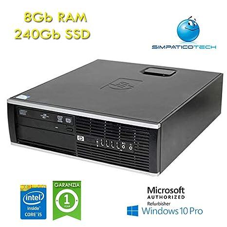 PC HP Compaq 8100 Elite SFF Core i5-650 3,2 GHz 8 GB RAM 240 GB ...