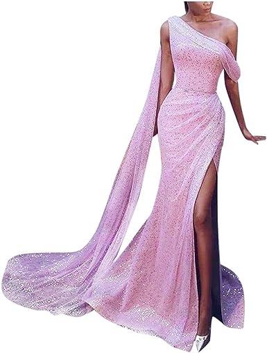 Fossen MuRope Vestidos de Fiesta Mujer Elegantes Lentejuelas sin ...
