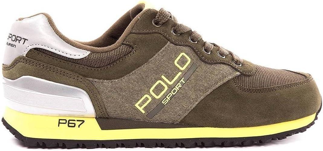 Polo Ralph Lauren - Zapatillas de Deporte para Hombre, (Kaki, 07 ...