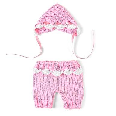 Kinder Baby Strick Mütze Fotoshooting Neugeborene Frosch Muster ...