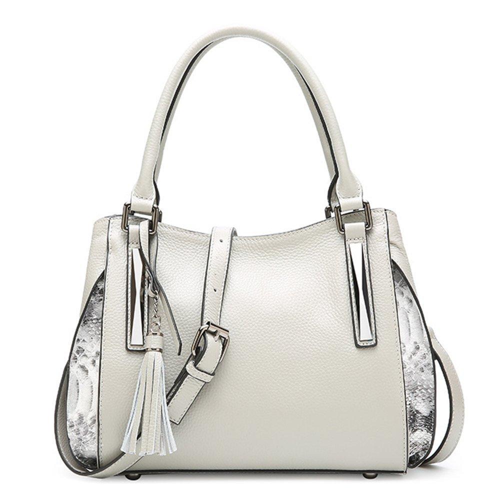 Women Genuine Leather Hobo Bags Supple Top-handle Bags Evening Satchels Shoulder Bags