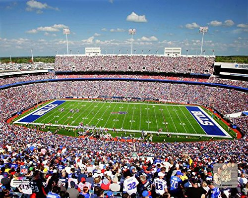 "Buffalo Bills Ralph Wilson Stadium Photo (Size: 8"" x 10"")"