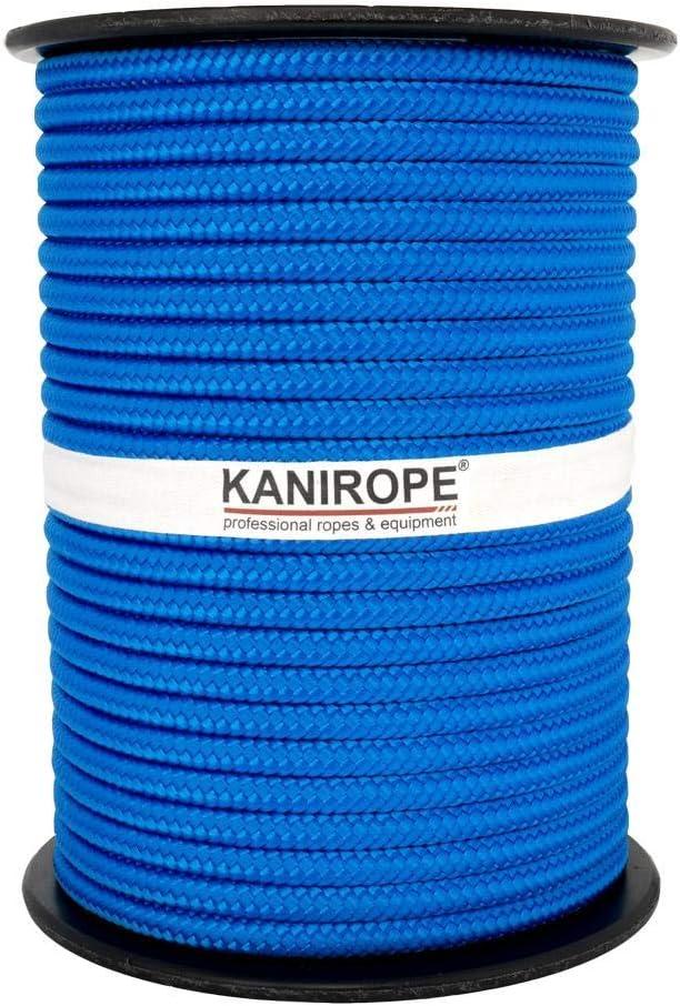0921 Braided Polypropylene Rope PP 6mm 100m Color Dark-Grey