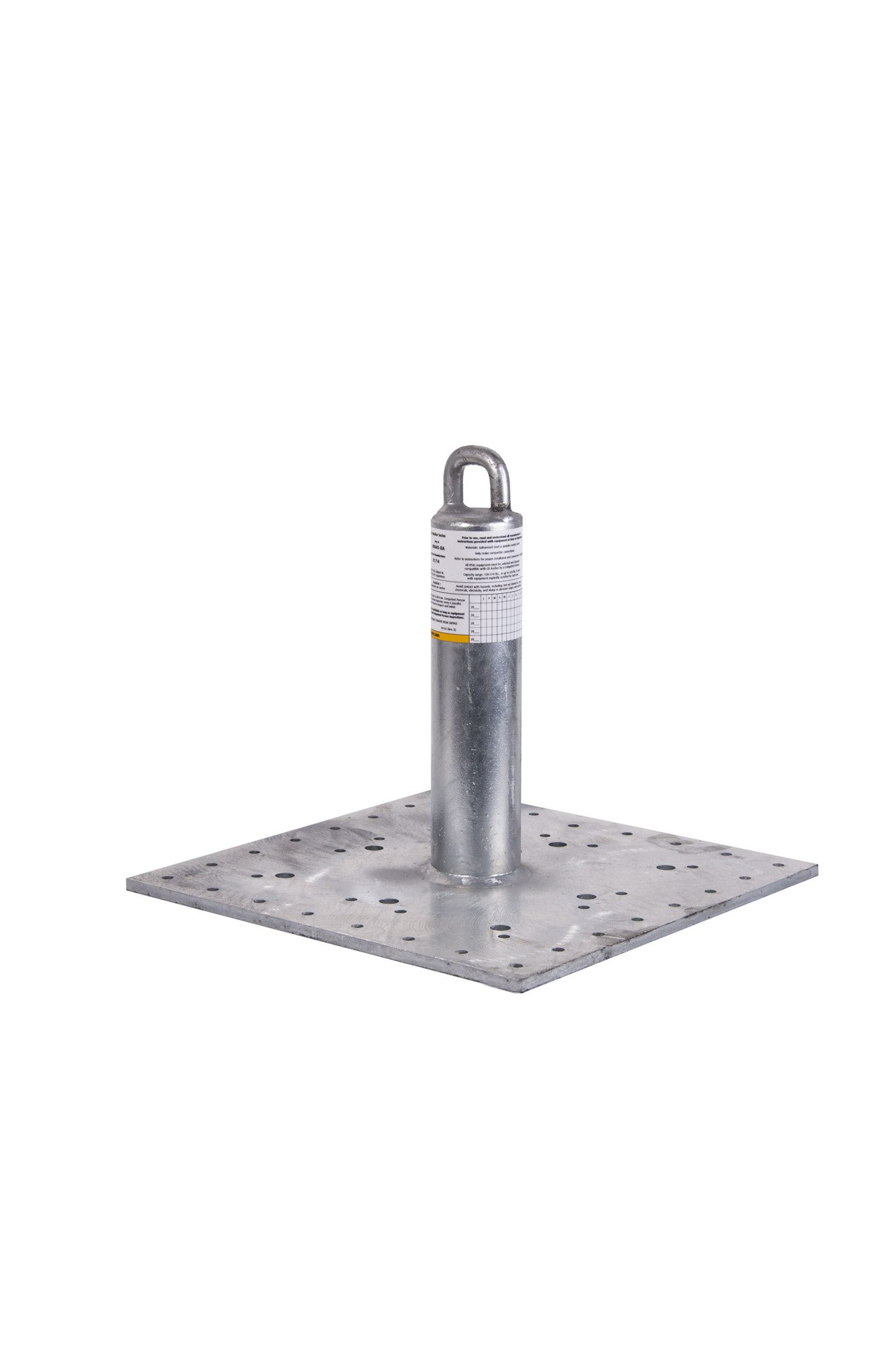 Guardian Fall Protection 00645 CB-12 CB Galvanized Roof Anchor, 12-Inch Tall