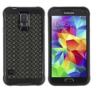 """Pulsar iFace Series Tpu silicona Carcasa Funda Case para Samsung Galaxy S5 V , Modelo del papel pintado azar Diseño Rayas"""""""