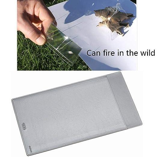 Lentes de aumento de tamaño de tarjeta 3X con cubierta de ...