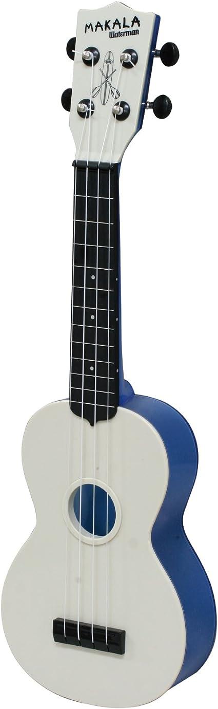 Makala 133723 Waterman - Ukelele soprano de plástico, color azul ...