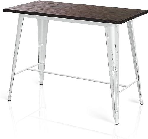 VIPEK 35.43″ Counter Height Bar Table