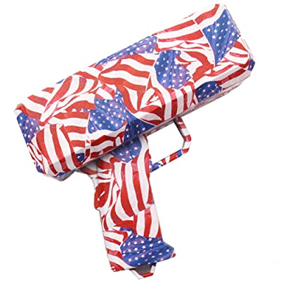 EELHOEe Cash Money Gun, Making A Cash Rain Money Toy Gun American flag: Toys & Games