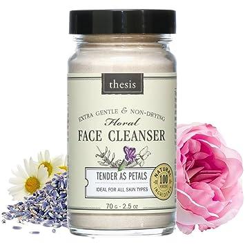 thesis facial cleanser tender as petals